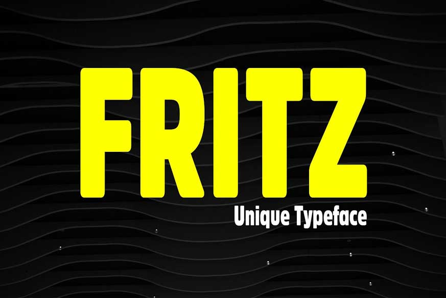 Fritz Unique Display Typeface-1
