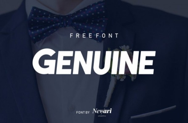 Genuine Sans Font