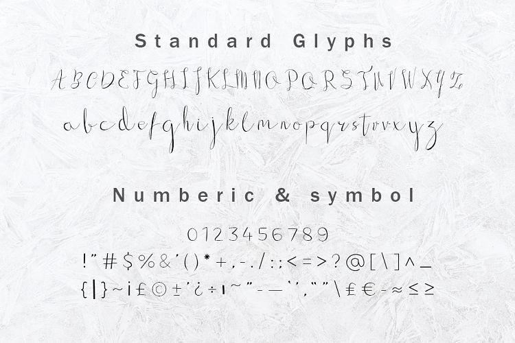 Gillithig Script Font-3