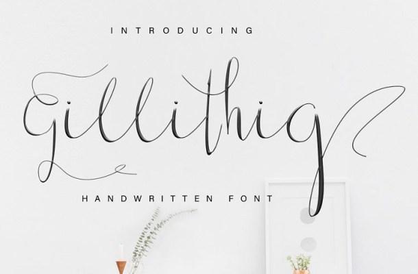 Top 12 Dafont com Calligraphy Fonts - Gorgeous Tiny