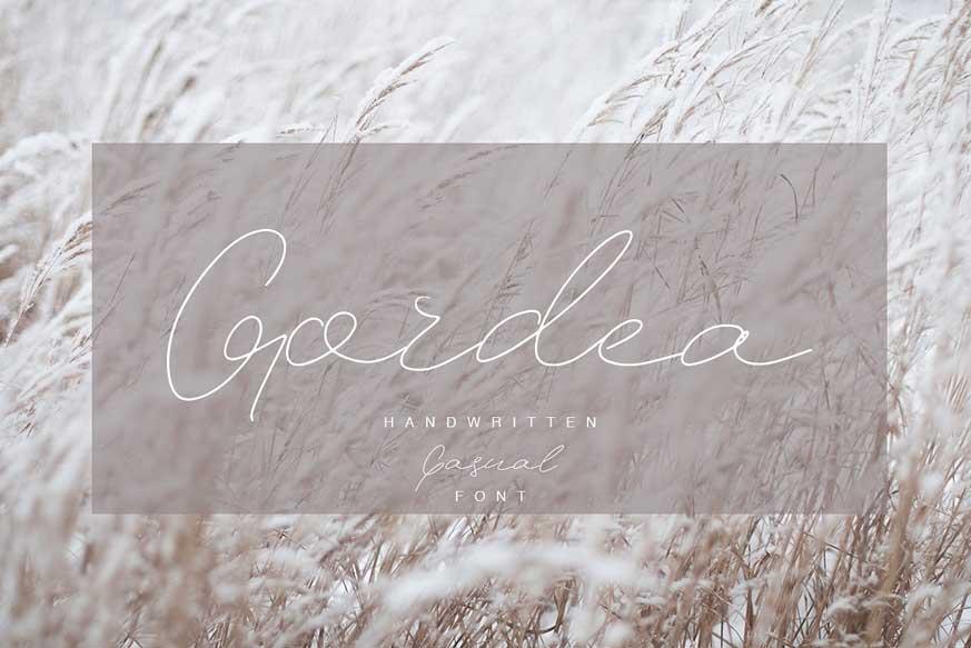 Gordea Font-1