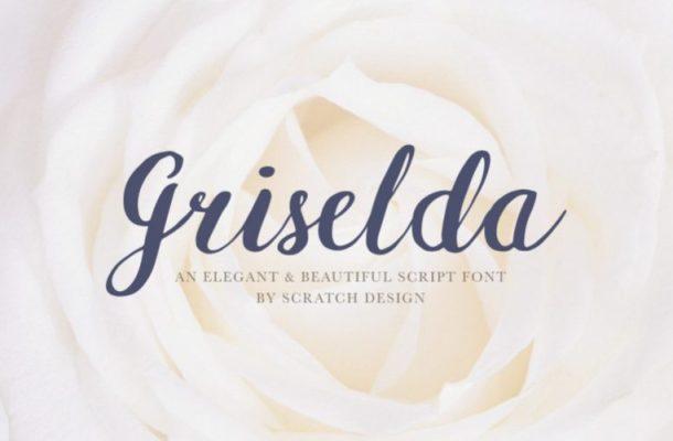 Griselda Brush Font
