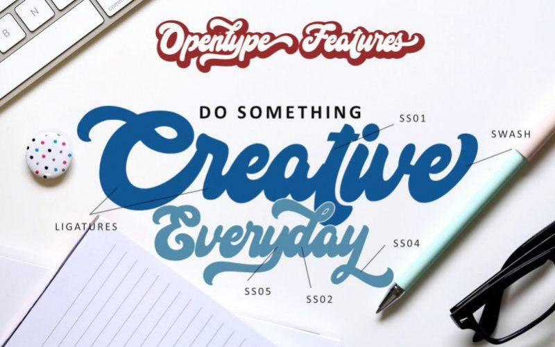 Hi Monday Script Font-2