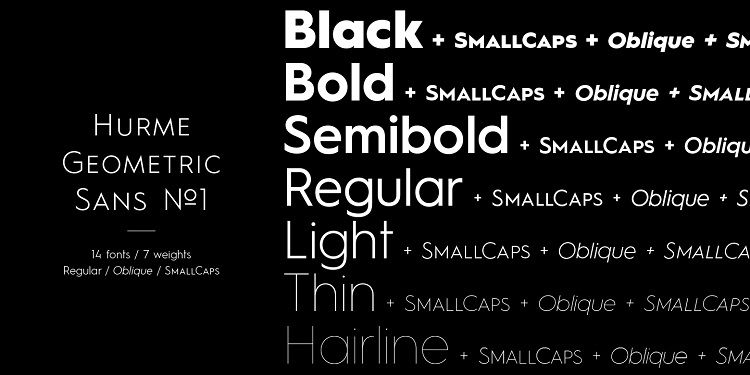 Hurme Geometric Sans Font-1