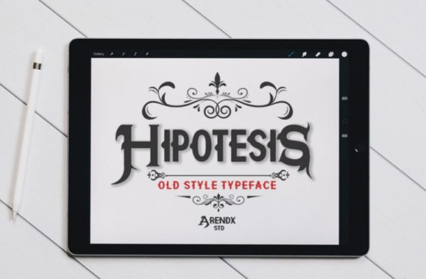 Hypothesis Display Font