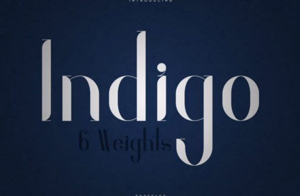 Indigo Typeface