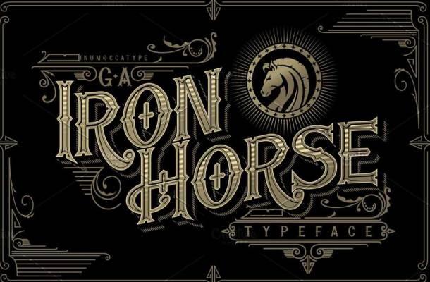 Iron Horse Font