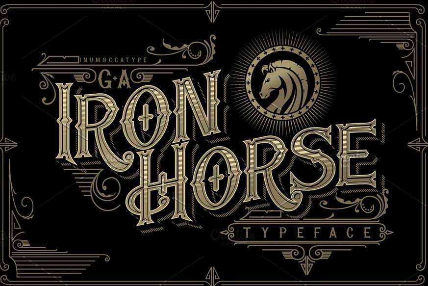 Iron Horse Font-1