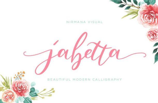 Jabetta Script Font