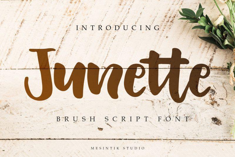 Junette Script Font-1