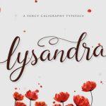 Lysandra Calligraphy Font