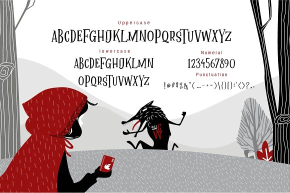 Mallica Fairytale Font-3