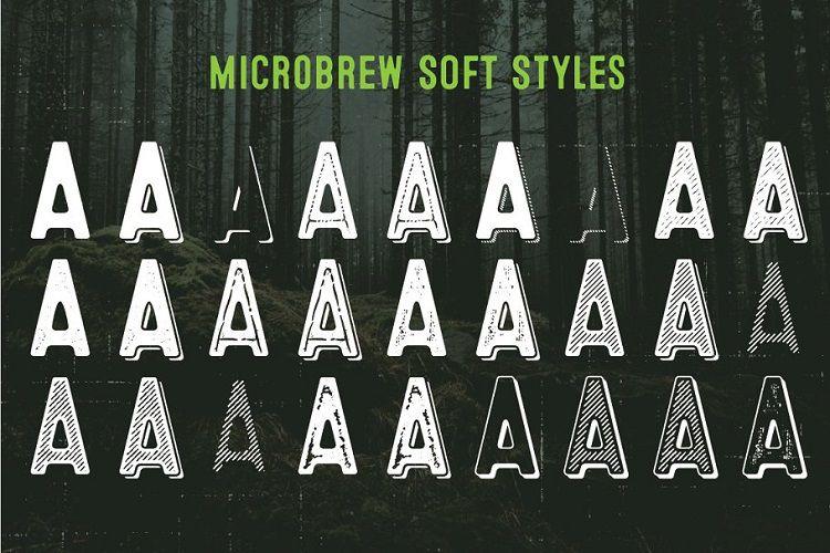 Microbrew Soft Mega Font Family-2