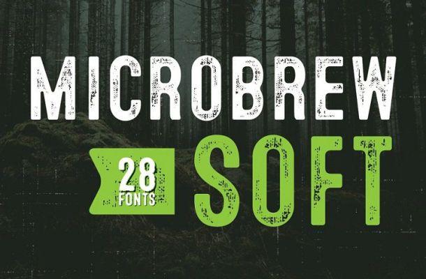 Microbrew Soft Mega Font Family