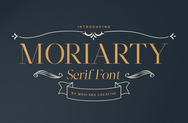 Moriarty Serif Demo Font