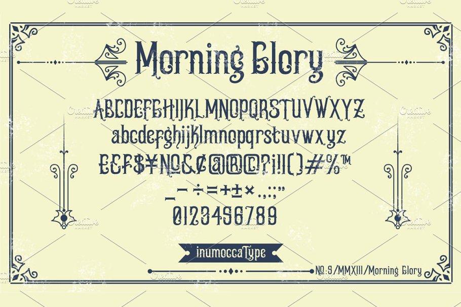 Morning Glory Font-2