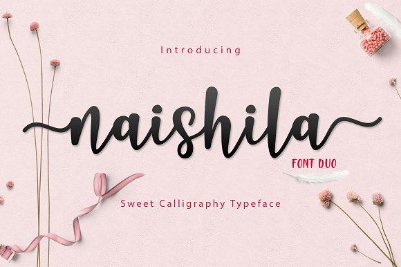 Naishila Dancing Script Font