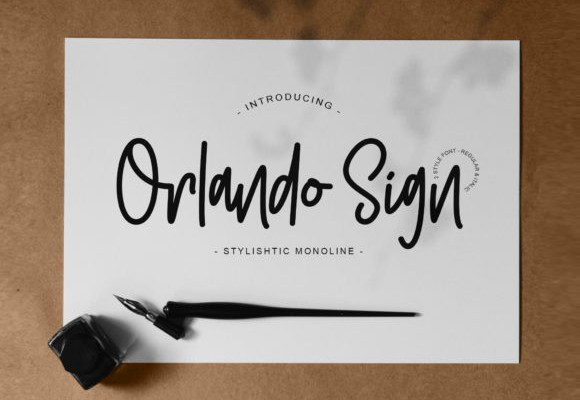 Orlando Handwritten Font
