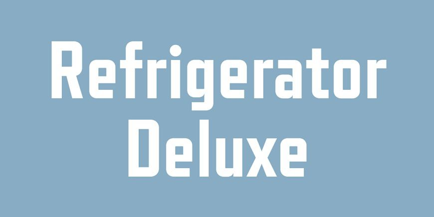 Refrigerator Deluxe Font Family-1
