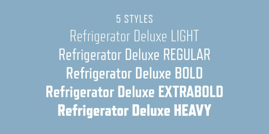 Refrigerator Deluxe Font Family-3