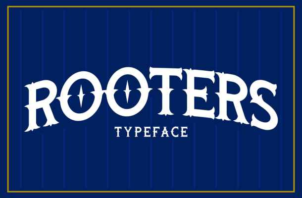 Rooters Pro Font