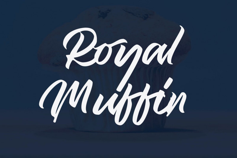 Royal Muffin Script Font