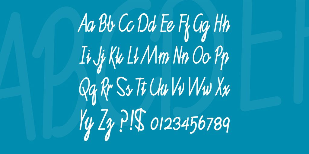 Ruth Calligraph Font-3