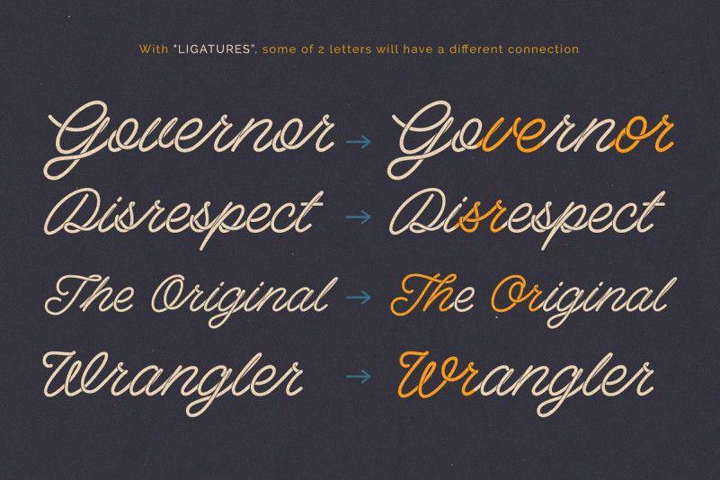 Spagheti Script Font-2