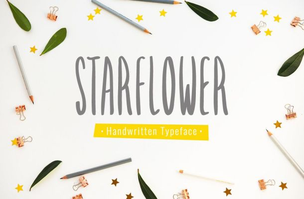 Starflower Font
