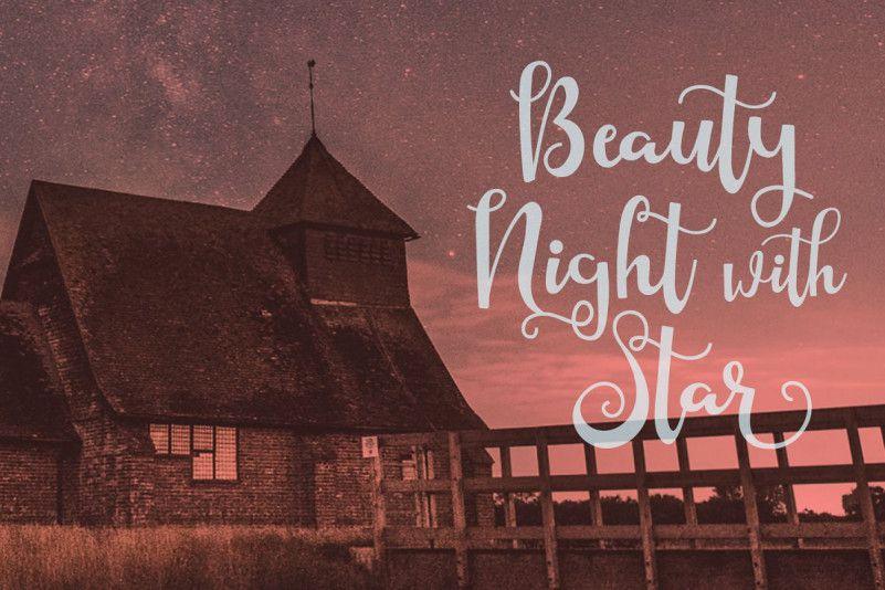 Starlight Script Font-2