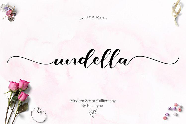 Undella Calligraphy Font
