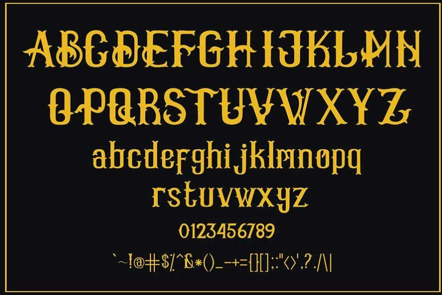 Vanhala Font-3