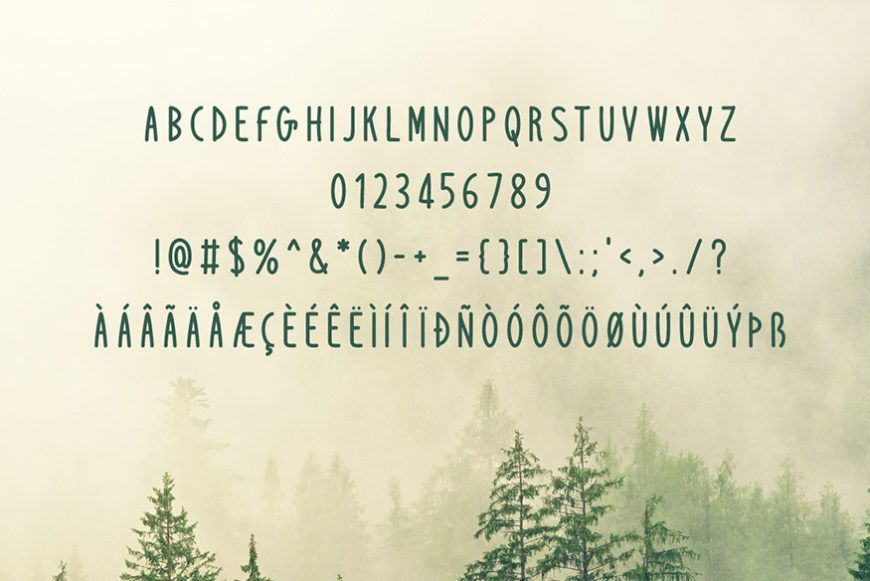 Windbreak Font-2