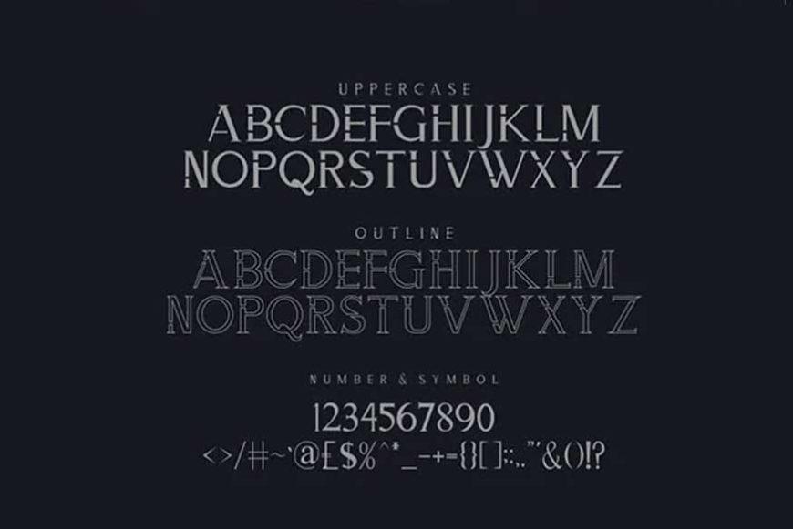 Zorgeous Font-3
