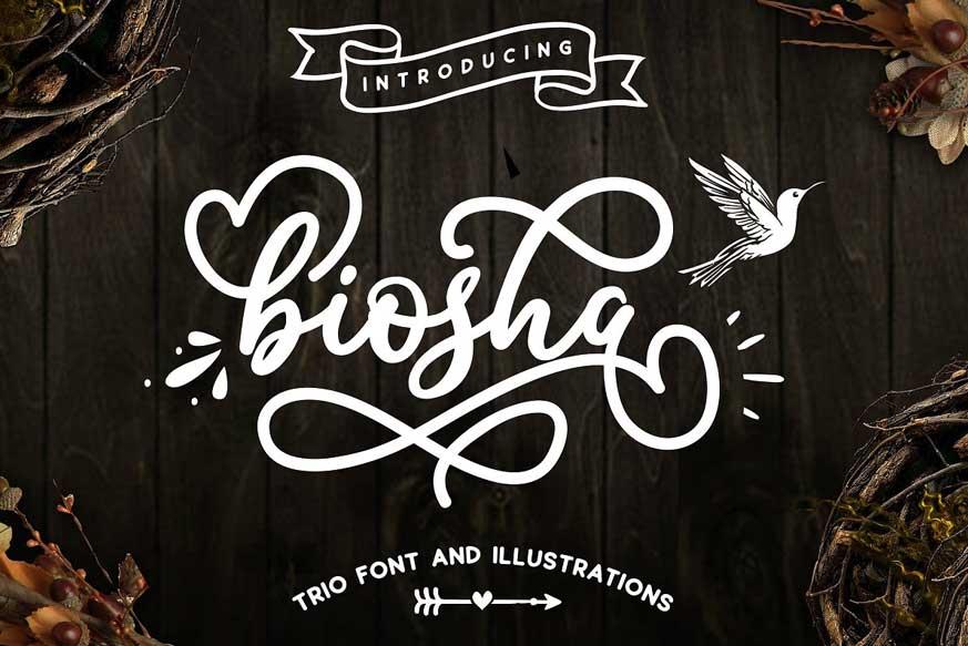 Biosha Font-1