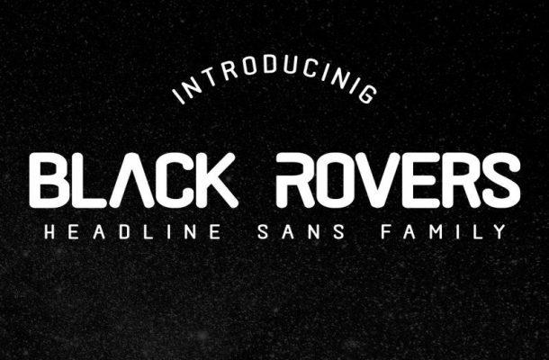 Black Rovers Sans Font