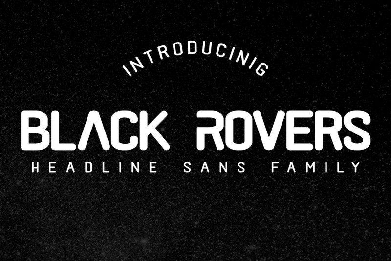 Black Rovers Sans Font-1