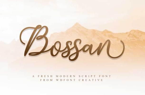 Bossan Font