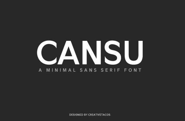 Cansu Sans Serif Font Family