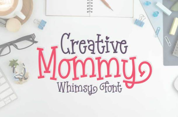 Creative Mommy Font