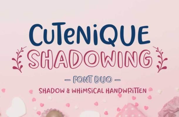 Cutenique Font