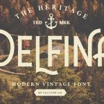 DELFINA Vintage Font