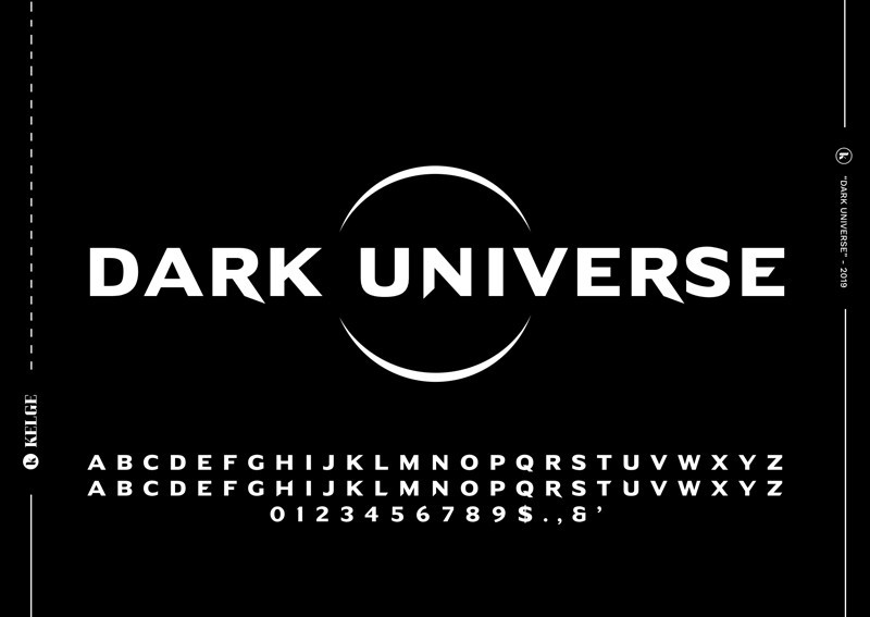 Dark Universe Free Font-1