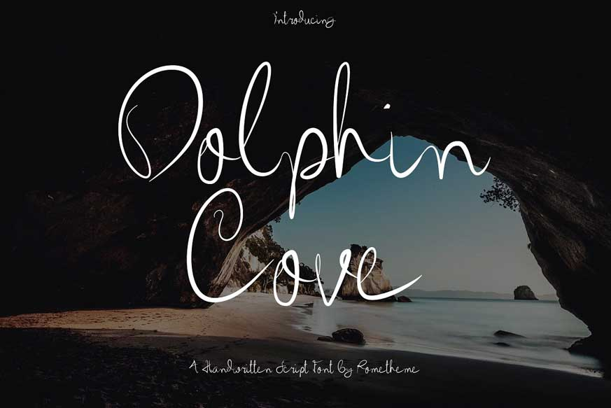 Dolphin Cove Font-1