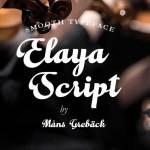 Elaya Script Font