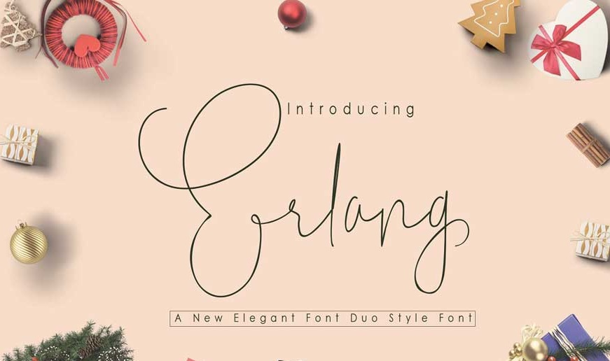 Erlang Duo Style Font-1