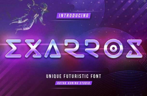 Exarros Font Family