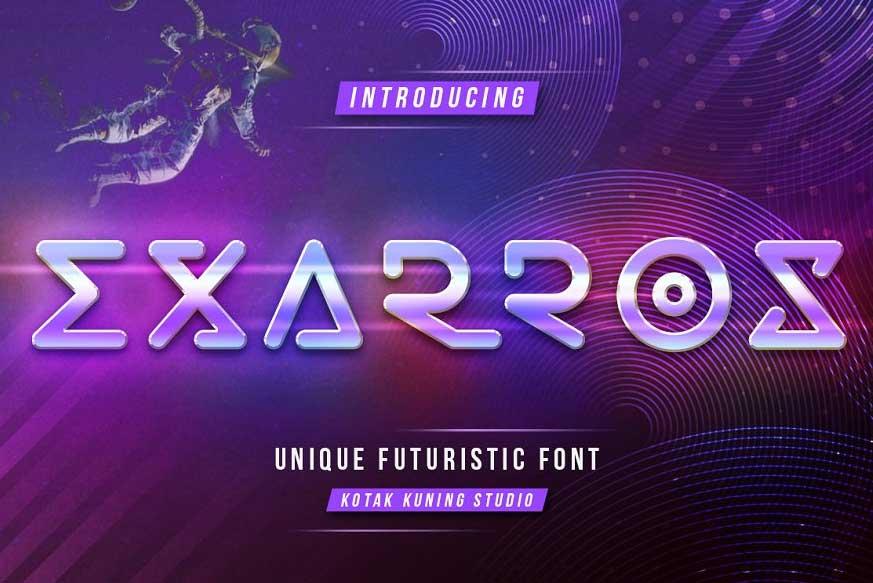 Exarros Font-1