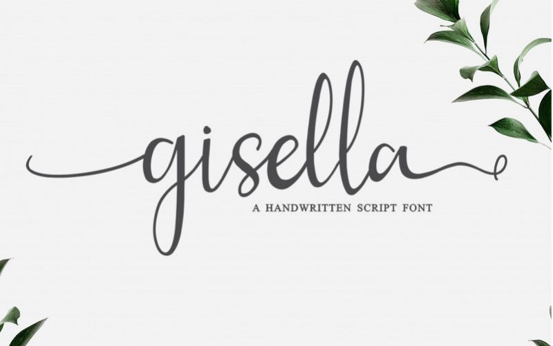 Gisella Handwritten Font-1