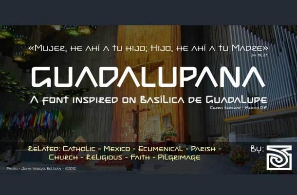 Guadalupana Font Family